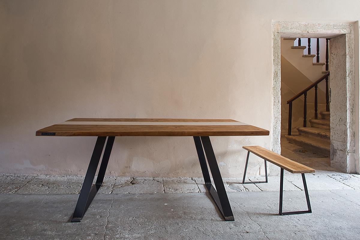tavolo in ciliegio - delamont