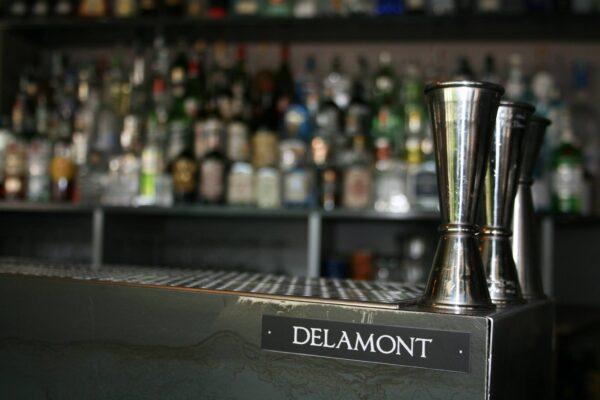 Bancone Delamont al bar Corner Pordenone 2