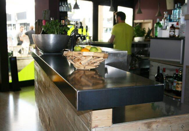 Bancone Delamont al bar Corner Pordenone