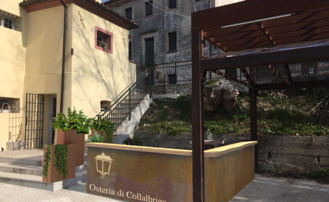 Osteria di Collalbrigo (TV) - Render Industrie Delamont