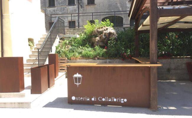 Bancone bar esterno per Collalbrigo - Industrie Delamont