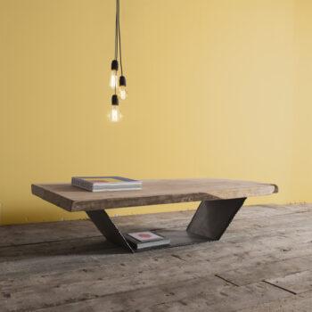 tavolino in olmo delamont 1